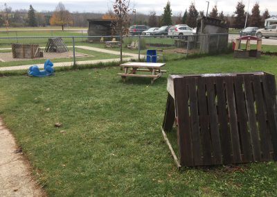 Markdale Location Outdoor Playground Equipment.